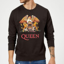Queen Crest Sweatshirt - Black