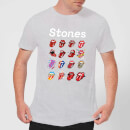 Rolling Stones No Filter Tongue Evolution Men's T-Shirt - Grey