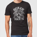Queen Tour 75 Men's T-Shirt - Black