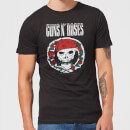 Guns N Roses Circle Skull Men's T-Shirt - Black