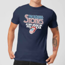 Rolling Stones 81 Tour Logo Men's T-Shirt - Navy