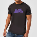 Black Sabbath Logo Men's T-Shirt - Black
