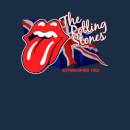 Rolling Stones Lick The Flag Men's T-Shirt - Navy