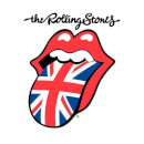Rolling Stones UK Tongue Men's T-Shirt - White