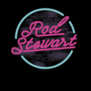 Rod Stewart Neon Men's T-Shirt - Black