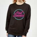 Rod Stewart Neon Women's Sweatshirt - Black