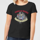 Guns N Roses Jungle Skeleton Women's T-Shirt - Black