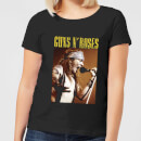 Guns N Roses Axel Live Women's T-Shirt - Black