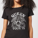 Queen Tour 75 Women's T-Shirt - Black