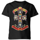 Guns N Roses Appetite For Destruction Kids' T-Shirt - Black