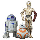 Kotobukiya Star Wars: The Force Awakens C-3PO and R2-D2 with BB-8 ArtFX+ Statue