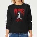 Mr Pickles Pile Of Skulls Women's Sweatshirt - Black