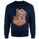Scooby Doo Munchies Sweatshirt - Navy