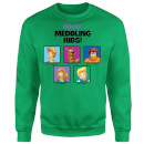 Scooby Doo Meddling Kids Sweatshirt - Kelly Green