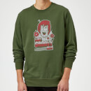 Scooby Doo Like, Groovy Man Sweatshirt - Forest Green