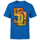 Scooby Doo Collegiate Men's T-Shirt - Royal Blue