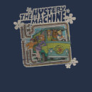 Scooby Doo Mystery Machine Psychedelic Men's T-Shirt - Navy