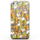 Scooby Doo Character Pattern Phone Case for iPhone and Android