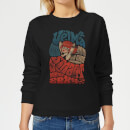 Scooby Doo Smart Is The New Sexy Women's Sweatshirt - Black