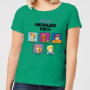 Scooby Doo Meddling Kids Women's T-Shirt - Kelly Green