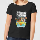 Scooby Doo Mystery Machine Heavy Metal Women's T-Shirt - Black