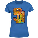 Scooby Doo Collegiate Women's T-Shirt - Royal Blue