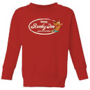 Scooby Doo Cola Kids' Sweatshirt - Red