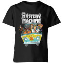 Scooby Doo Mystery Machine Heavy Metal Kids' T-Shirt - Black