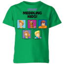 Scooby Doo Meddling Kids Kids' T-Shirt - Kelly Green