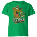 Scooby Doo Scooby Snacks Kids' T-Shirt - Kelly Green