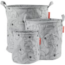 Done by Deer Storage Baskets - Grey (Set of 3)