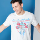 Camiseta Transformers Optimus Prime Retro Japonés - Blanco