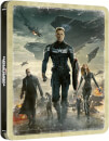 Captain America: Winter Soldier 4K Ultra HD (Includes 2D Blu-ray) Zavvi UK Exclusive Steelbook