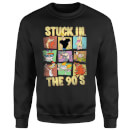 Cartoon Network Stuck In The 90s Sweatshirt - Black