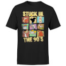 Cartoon Network Stuck In The 90s Men's T-Shirt - Black