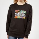 Cartoon Network Logo Characters Women's Sweatshirt - Black