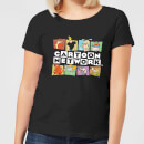 Cartoon Network Logo Characters Women's T-Shirt - Black