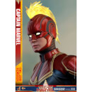 Hot Toys Captain Marvel Movie Masterpiece Action Figure 1/6 Captain Marvel Deluxe Ver. 29 cm