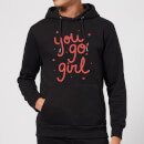 You Go Girl Hoodie - Black