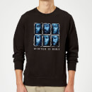 Game of Thrones Winter Is Here Faces Sweatshirt - Black