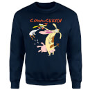 Cow and Chicken Characters Sweatshirt - Navy