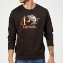 I Am Weasel Characters Sweatshirt - Black