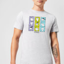 Ed, Edd n Eddy Heads Men's T-Shirt - Grey