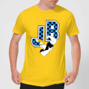 Johnny Bravo JB Varsity Men's T-Shirt - Yellow