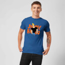 Johnny Bravo Pose Men's T-Shirt - Royal Blue