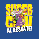 Cow and Chicken Supercow Al Rescate! Men's T-Shirt - Royal Blue