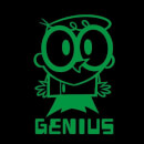 Dexters Lab Green Genius Men's T-Shirt - Black