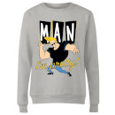 Johnny Bravo Man I'm Pretty Women's Sweatshirt - Grey