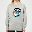 Dexters Lab Genius Women's Sweatshirt - Grey