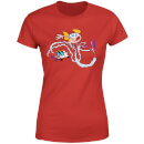 Dexters Lab Rocket Shoes Women's T-Shirt - Red